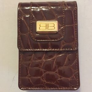 Balenciega Cigarette Case leather key &card holder